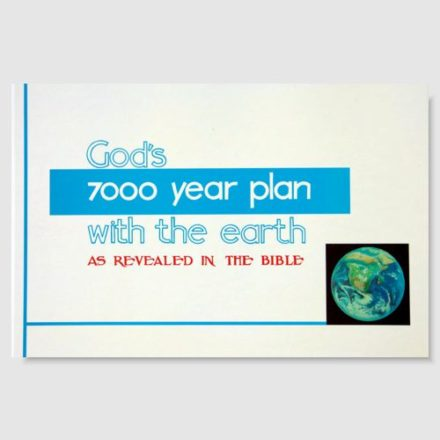 God's 7000 Year Plan